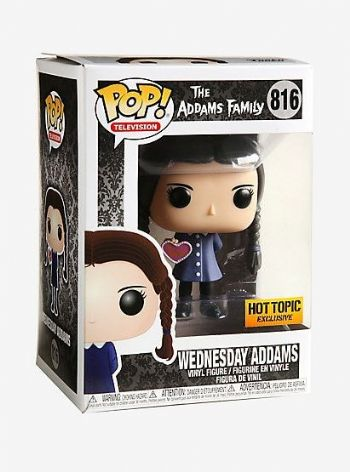 Funko POP! Vinyl Hot Topic Exclusive The Addams Family Wednesday Addams